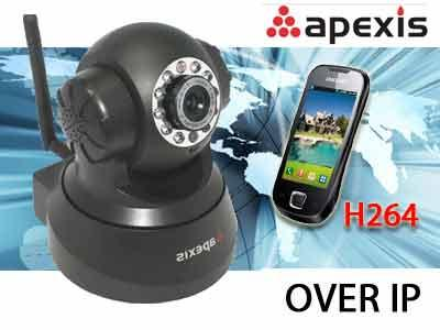 APEXIS 3G H804 Wireless H.264 WiFi IP Camera Micro SD Card Support