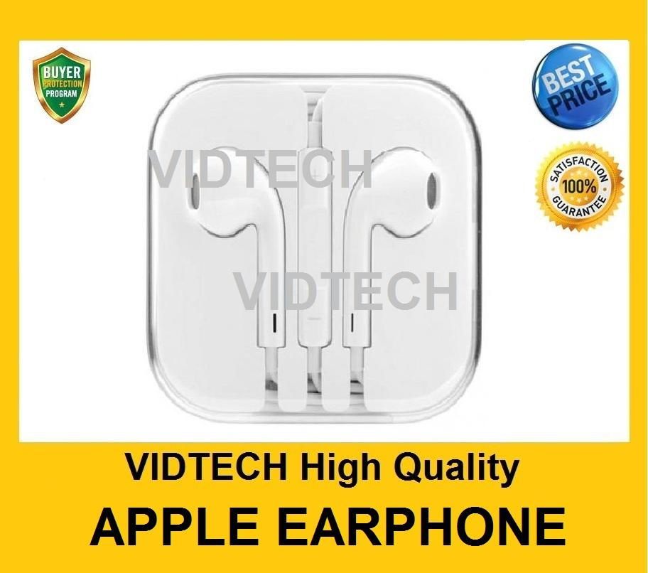 Apple Earphone with Remote & Mic for iPhone 5 6 6 Plus iPad iPod PROMO