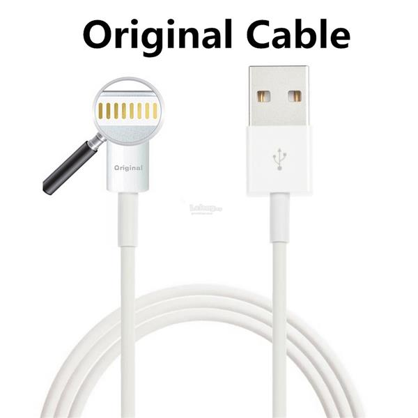 Apple Genuine Original Certified 8 Pin Lightning To USB Cable Data 1M