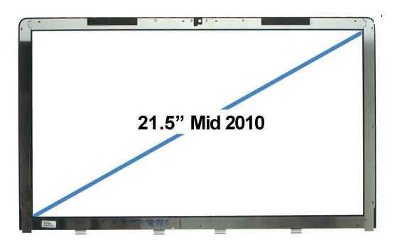 "APPLE IMAC 21.5-inch 21"" 508 MC509 413 FRONT GLASS COVER PANEL"