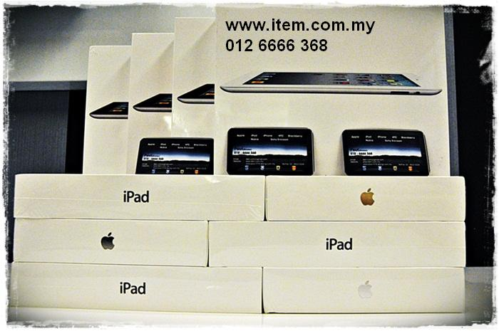 APPLE IPAD 2 64GB wifi  ready stock with free gift rm1799-10%=rm1619