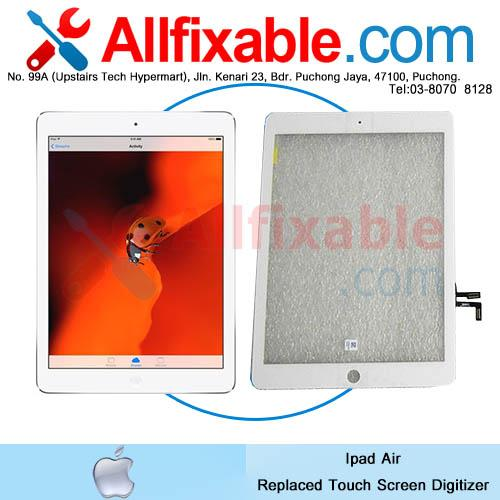 Apple Ipad Air Broken Crack Touch Screen Digitizer replace change