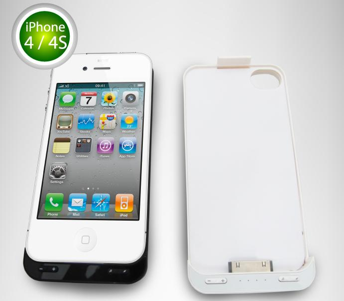 Apple iPhone 4 4S External Battery Power Pack with Speaker BA33