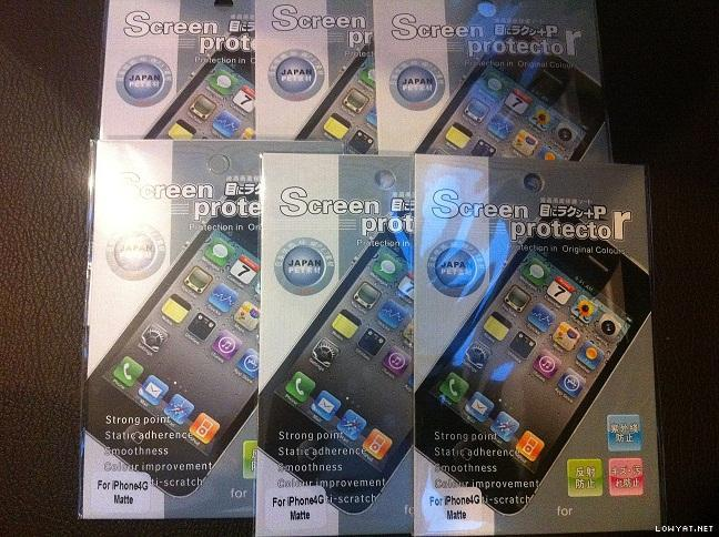 Apple Iphone 4G/4S Matte Screen Protector (1 Piece)