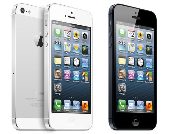Apple Iphone 5  16gb/32gb/64gb White Color-Sim Free Set/ Use On Any Operator