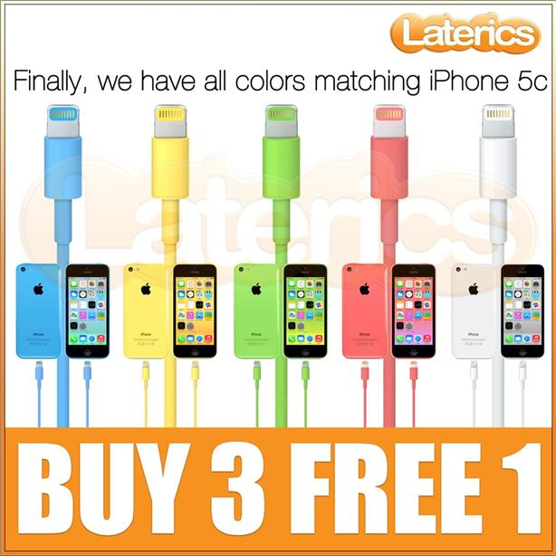 Colorful Lightning Cable Usb Cable Ios7 Color