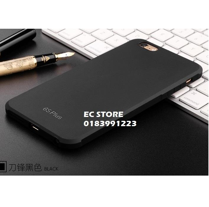 Apple iPhone 5 5s SE 6 6s 7 Plus Black Business Silicon TPU Case Cover