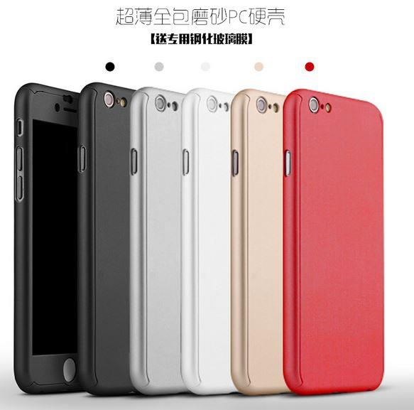 APPLE IPHONE 5 5S SE 6 6S PLUS 360 FULL Protection (end 12/17/2017 8 ...