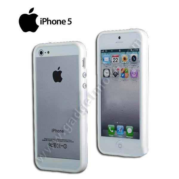 Apple iPhone 5 5S SE Full Bumper Frame TPU Back Case Cover Shell