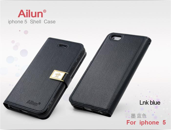 Apple iPhone 5 Ailun Leather Diary Case - Jotter Series