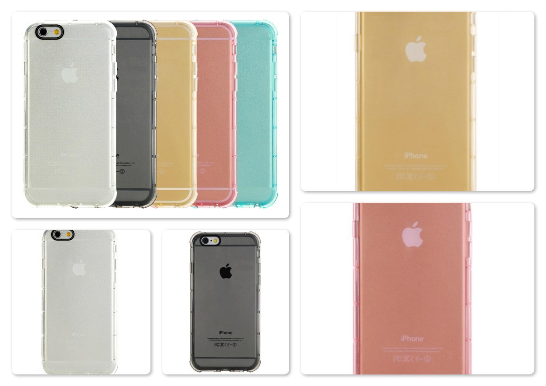 "Apple iPhone 6 4.7"" Rock Fence Series Shockproof TPU Back Case"