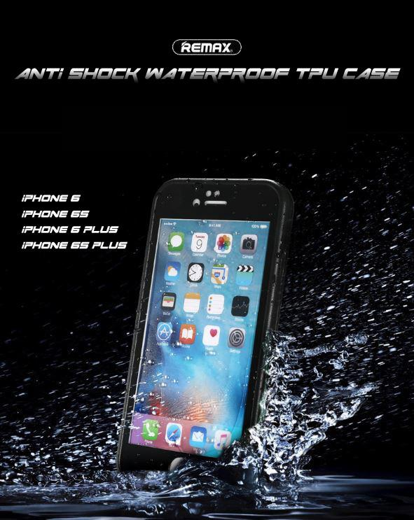 Apple iPhone 6 6 S 6 Plus 6S Plus Remax Anti Shock Waterproof TPU Case