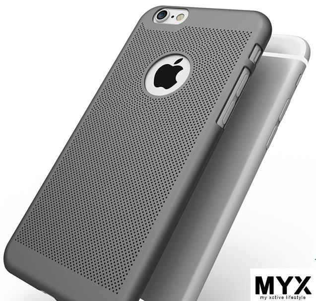 Apple iPhone 6/6plus Ventilation Cooling Matte Casing Case Cover