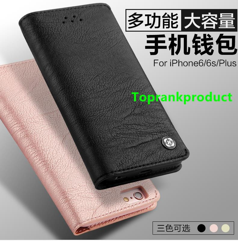 Apple iPhone 6 6S / Plus Card Slot Wallet Clips Bag Case Cover Casing