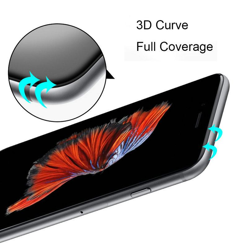 APPLE IPHONE 6 6S PLUS G-CASE 3D FULL CURVE Anti-Broken Tempered Glass