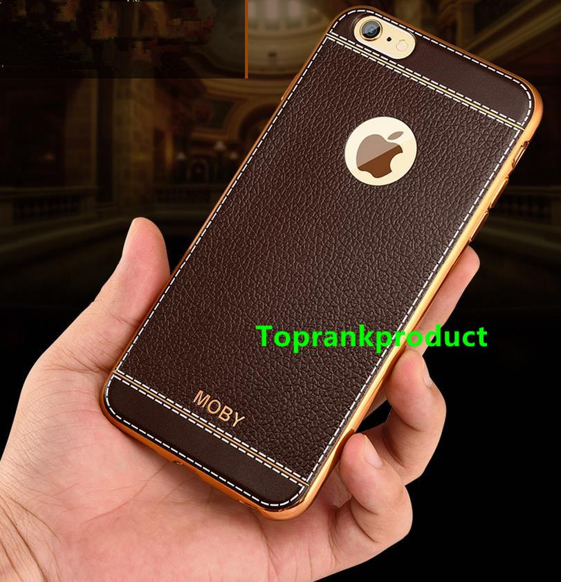 Apple iPhone 6 6S / Plus Soft TPU Leather Back Case Cover Casing +Gift