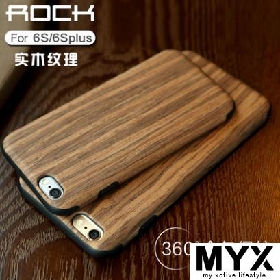 Apple iPhone 6​​/6 Plus Drop Proof TPU Wood Design Casing