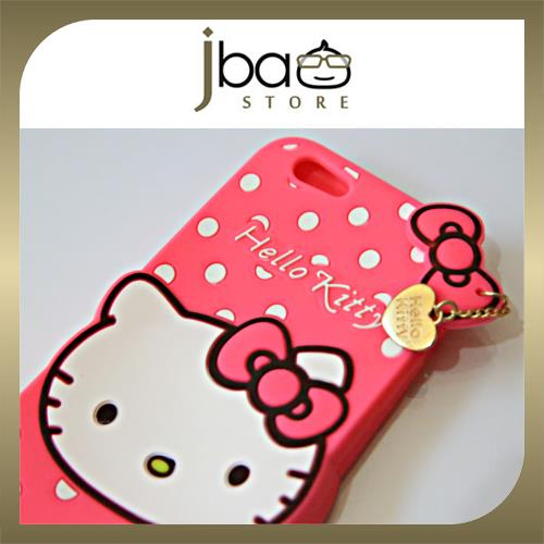 Apple Iphone 6 Hello Kitty 4.7 Silicone Back Case Softcase Cover