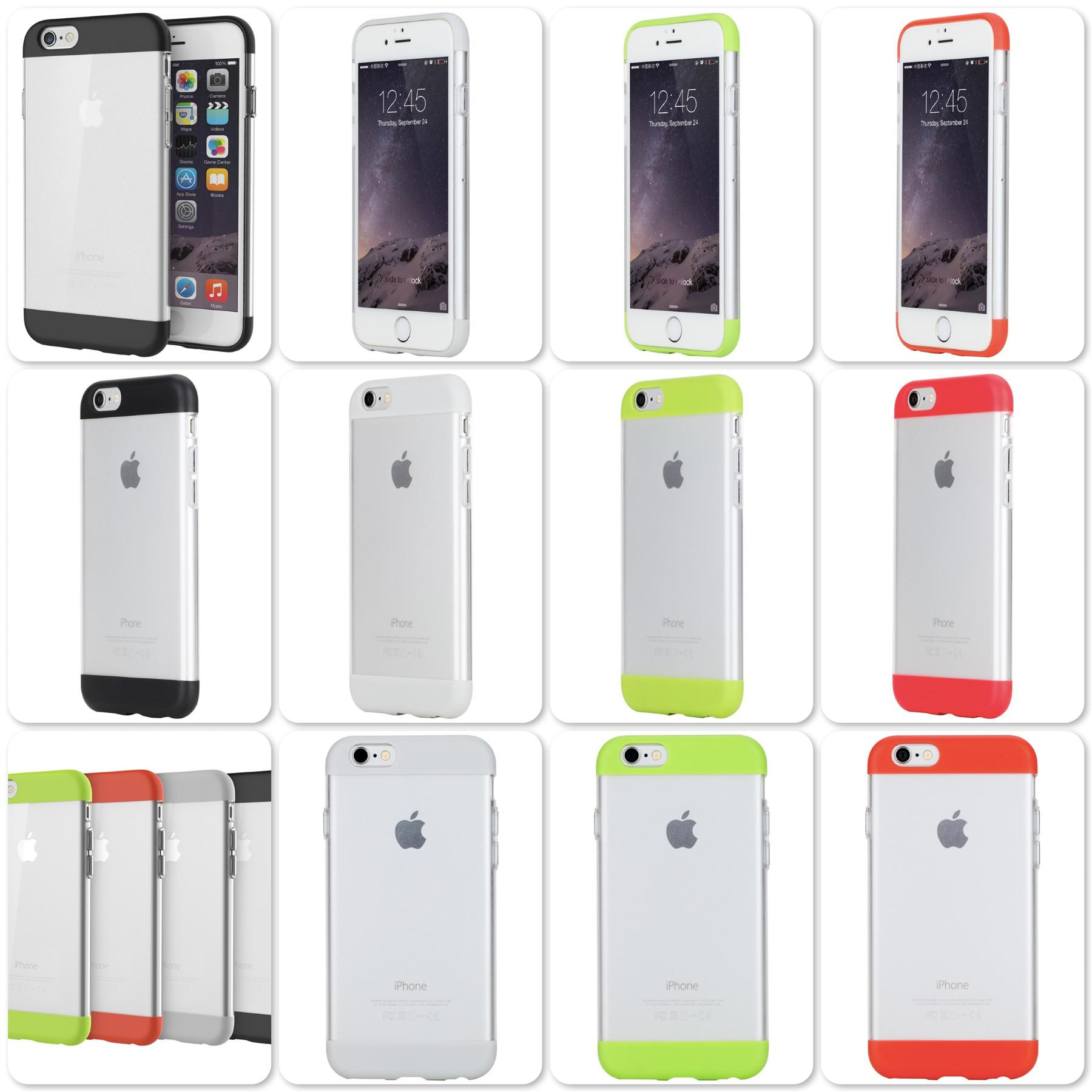 Apple iPhone 6 Plus & 6S Plus 5.5' Rock Aully series Back Case