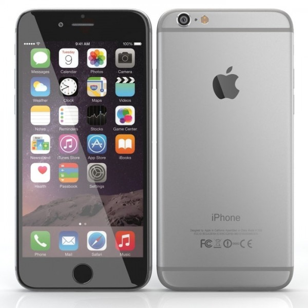 apple iphone 6 smartphone space grey 16gb refur end 10 12 2018 12 56 00 pm. Black Bedroom Furniture Sets. Home Design Ideas