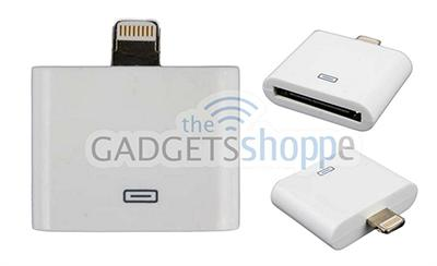 APPLE IPHONE 6S 6S+ 6 6+ 5S 5C 5 LIGHTNING ADAPTER TO IPHONE 4 / 4S