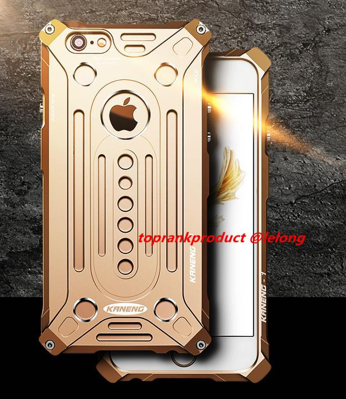Apple iPhone 7 / Plus Potent Metal Armor Back Case Cover Casing + Gift