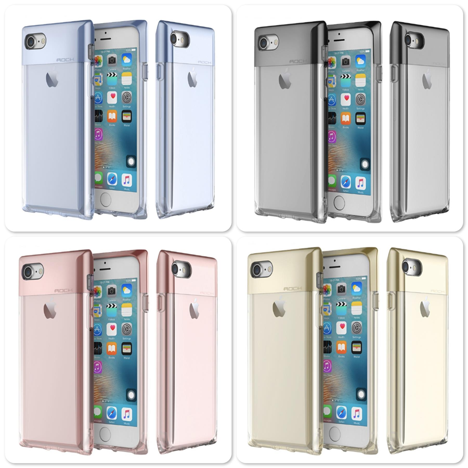 Apple iPhone 7 Rock Space Crystal series Protective Case