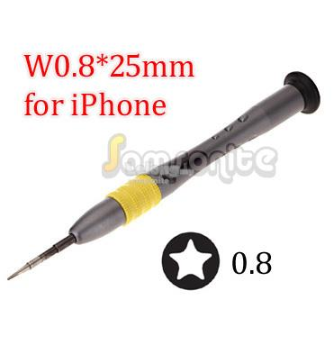 Apple iPhone Repair Opening Tools - Pentalobe 0.8 Screwdriver Open Bat