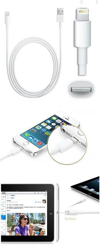 Apple Lightning To USB Data Sync & Charger Cable