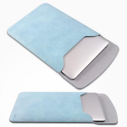 Apple Macbook Laptop -15 inch Leather Bag Case Casing Cover *Free Gift