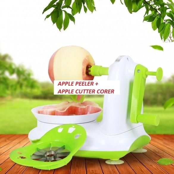Apple Peeler + Apple Cutter Corer
