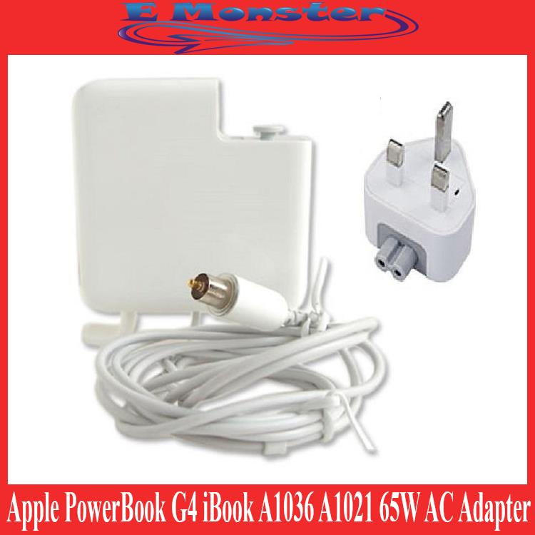 Apple PowerBook G4 iBook A1036 A1021 65W AC Adapter