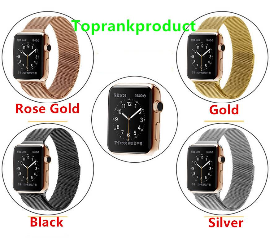 Apple Watch 2 42mm 38mm Metal Buckle Watchband Band Strap + Gift