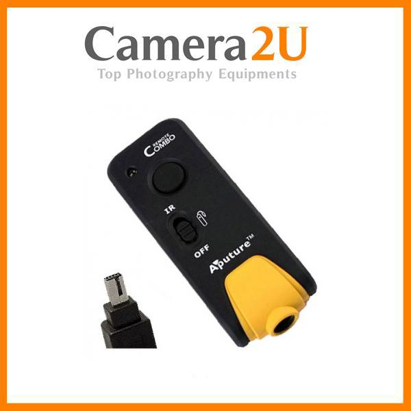 New Aputure Combo Camera Shutter Release CR2N for Nikon D80