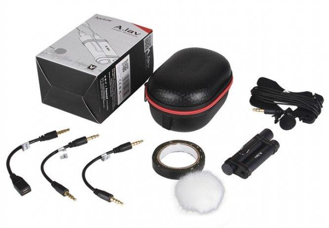 New Aputure A. Lav Lavalier Clip Mic Microphone for DSLR Camera
