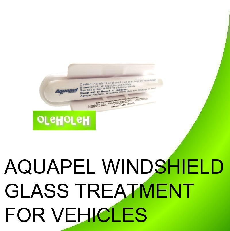 AQUAPEL Windshield Glass Treatment