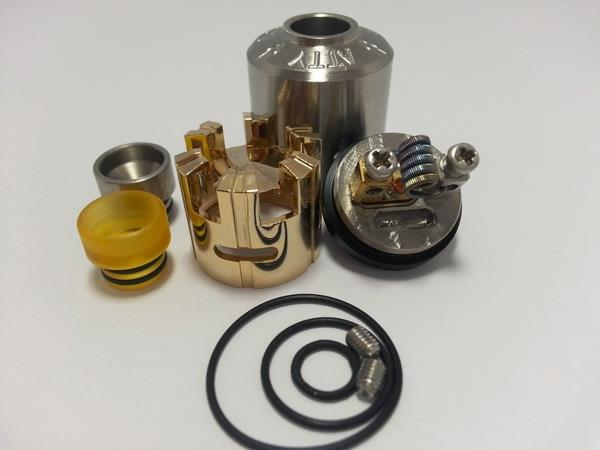 ARC ATTY RDA 316SS / Gold Plated vape rda