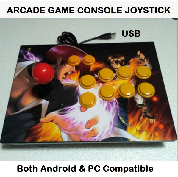 Arcade Game Console Joystick USB King Street Fighter Android PC Laptop