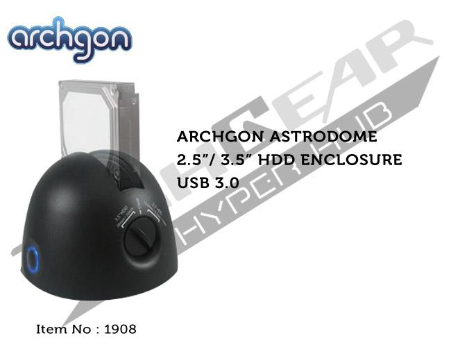 ARCHGON ASTRODOME 2.5'/3.5' HDD ENCLOSURE USB3.0