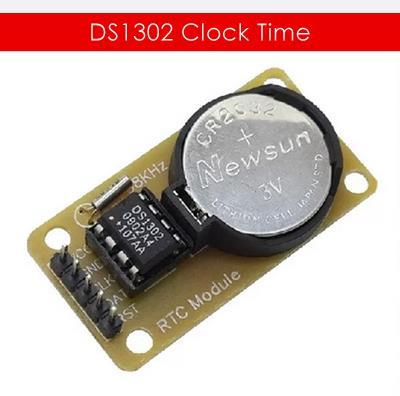 Arduino DS1302 Real Time Clock Module with Battery CR2032