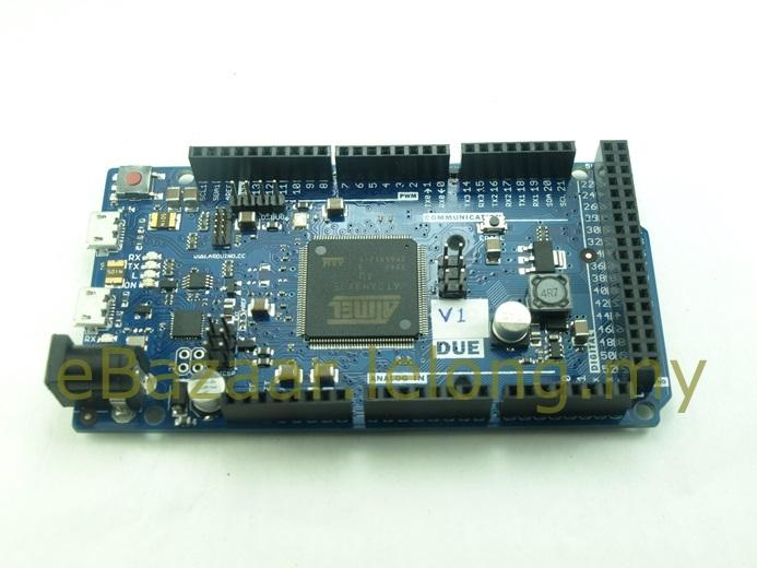 Arduino DUE  (ATSAM3X8E) Compatible Board 32-bit ARM Cortex M3