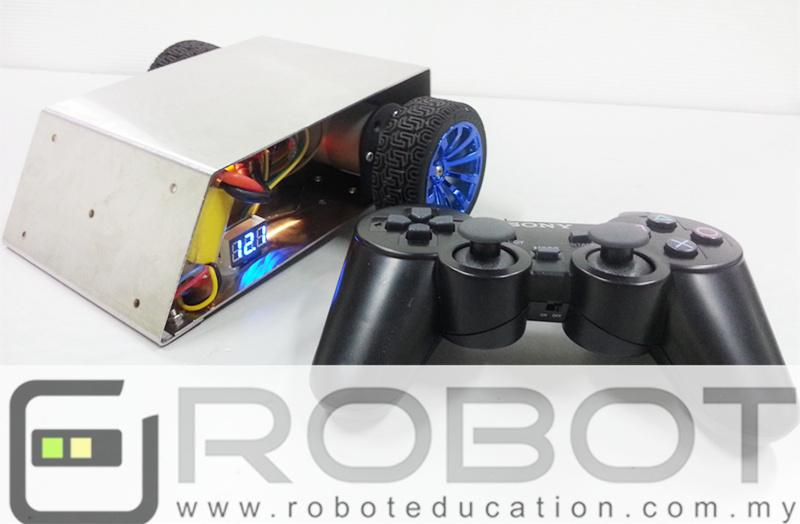 How to Make Mini Sumo Robot with EASYBOARD? Code Included