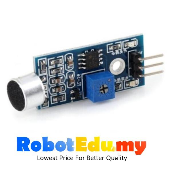 Arduino microphone adjustable sound end pm