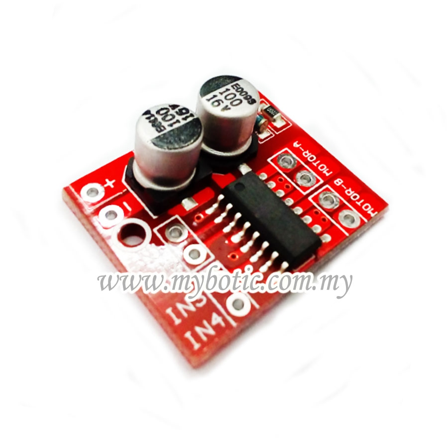 Arduino mini dc motor driver dual h brid end 4 30 2019 12 for Small dc motor controller