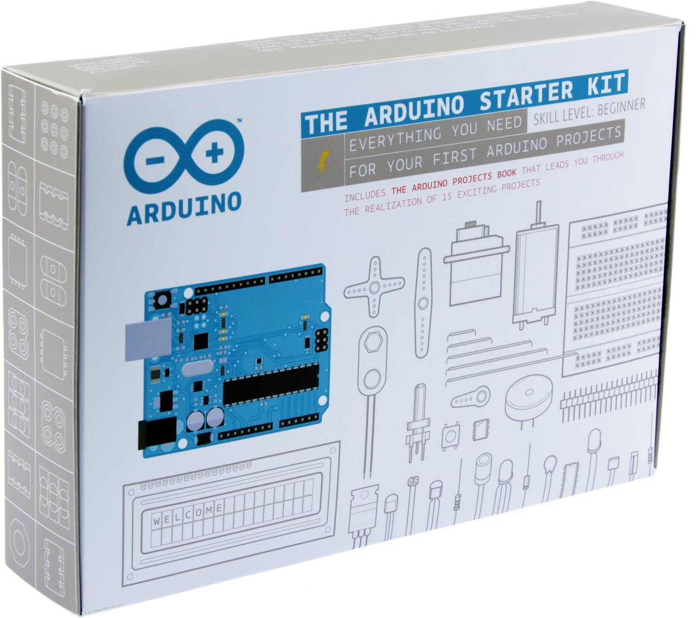 Arduino starter kit for beginner sk end am