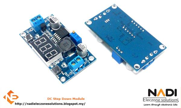 Arduino Uno compatible - DC-DC Step Down (Display)