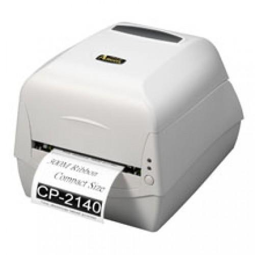 Argox 2140M Barcode Printer + 55mm x 300m Ribbon + 50mm x 30mm Sticker