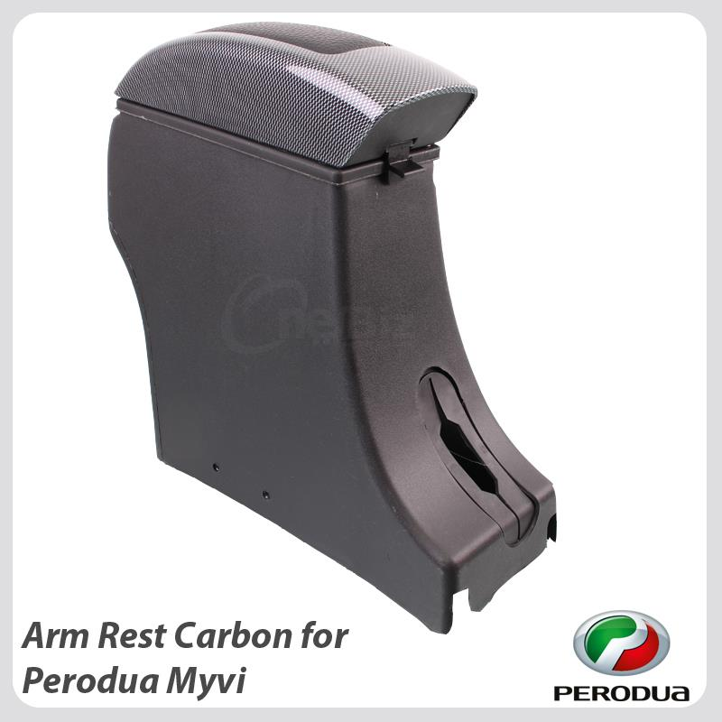Arm Rest Carbon For Perodua Myvi