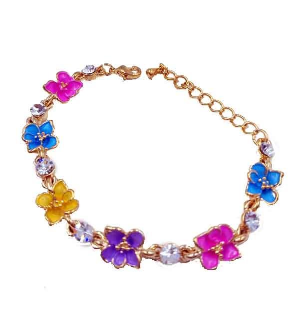 Armlet Colourful Flower