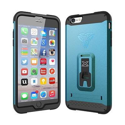 ARMOR-X SHOCKPROOF RUGGED CASE FOR IPHONE 6/6S - DYNAMIC BLUE